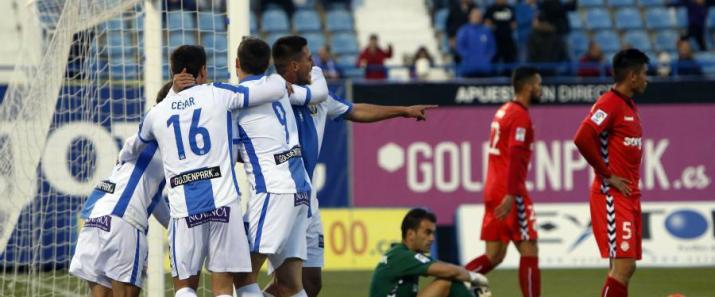 El gol d'Alex Szymanowski li va donar la victòria per 1 a 0 al Leganés. Foto:La Liga