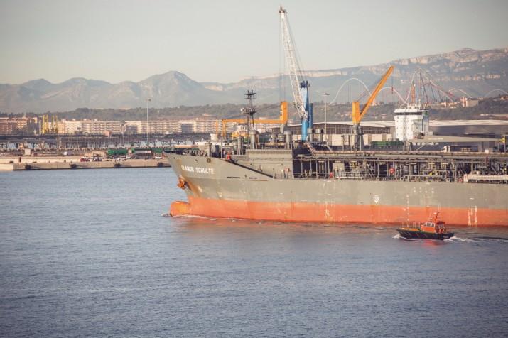 Vista general des de Port Control, amb Port Aventura al fons (foto: AGUSTÍ ARÉVALO)