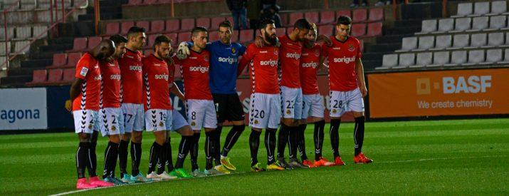 Els grana han sumat davant del Lugo la segona derrota a casa aquesta temporada després de perdre per 1 a 2 Foto:Nàstic