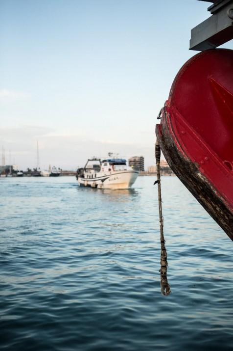 El port pesquer del Serrallo (foto: DAVID OLIETE)