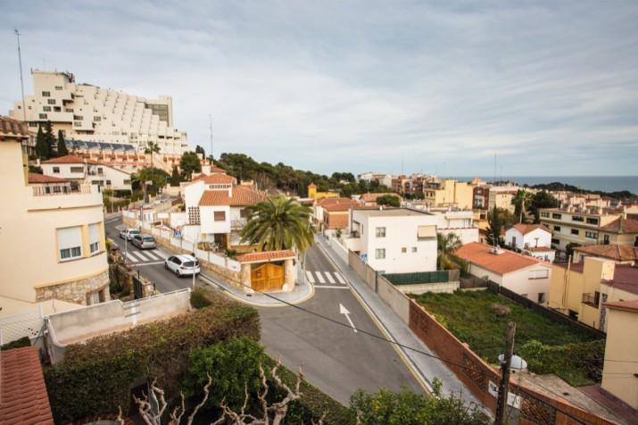 Vista general de Ciutat Jardí, entre el passeig de Sant Antoni i la Via Augusta. Foto: DAVID OLIETE