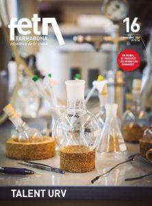 Imatge de la coberta del número 16 de la revista FET a TARRAGONA. Foto: DAVID OLIETE