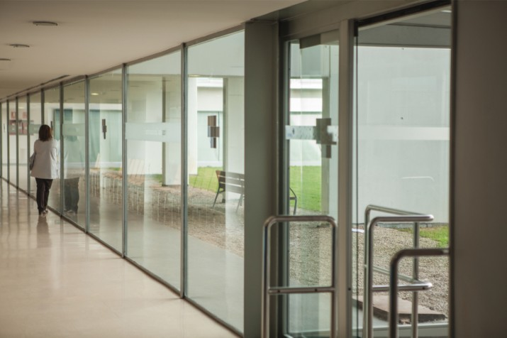 Aspecte de la Unitat de cures pal·liatives a l'hsopital sociosanitari Francolí. Foto: AITOR POMBO