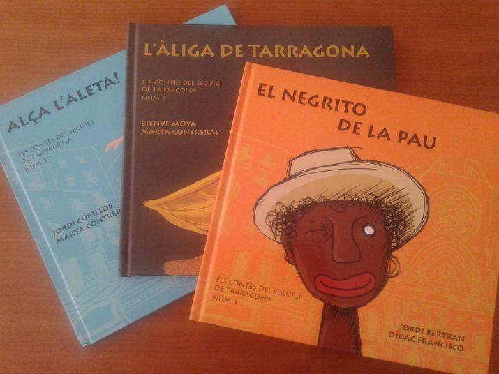 Els tres primers volums de la col·lecció 'Els contes del Seguici'. Un obsequi per a nous i vells subscriptors del FET a TARRAGONA