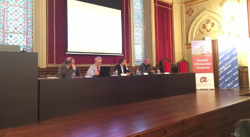 Els participants de la taula rodona (Foto: Gerard Recasens).