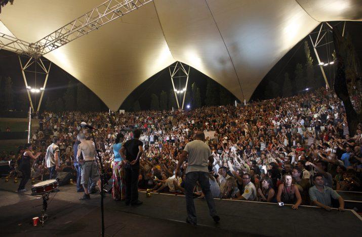 Imatge d'un concert de Manolo Garcia l'any 2009 al Teatre Auditori del Camp de Mart. Foto: AJUNTAMENT DE TARRAGONA