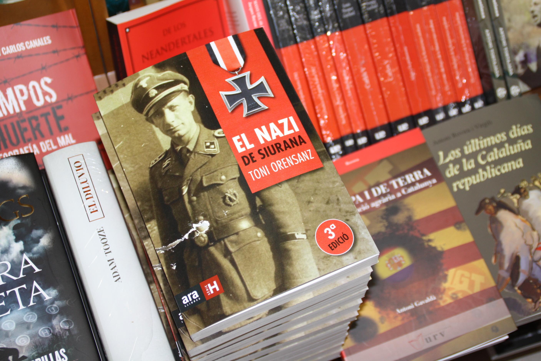 El llibre d'Orensanz ja fa setmanes que és entre els més venuts. Foto: JORDI ROBERT
