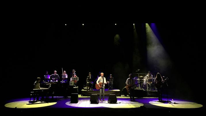 Els Pets, a l'últim concert de la seva gira al Teatre Tarragona. Foto: ALEIX COSTA