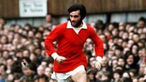 Una imatge d'una de les llegendes del futbol. George Best hauria fet setanta anys aquest diumenge.