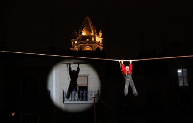 Un espectacle del festival Trapezi. Foto: Elisabet Magre