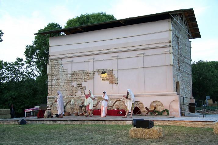 L'inici de l'actuació musical dels Ludi Scaenici
