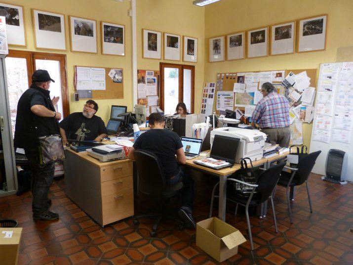 Els responsables del festival treballen tot l'any en la seva preparació. Fotografia: Jordi Robert Caselles.