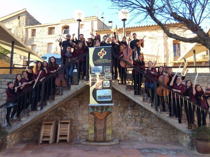 Músics de l'orquestra TLP de l'Espluga. Foto: Enric Mercadé
