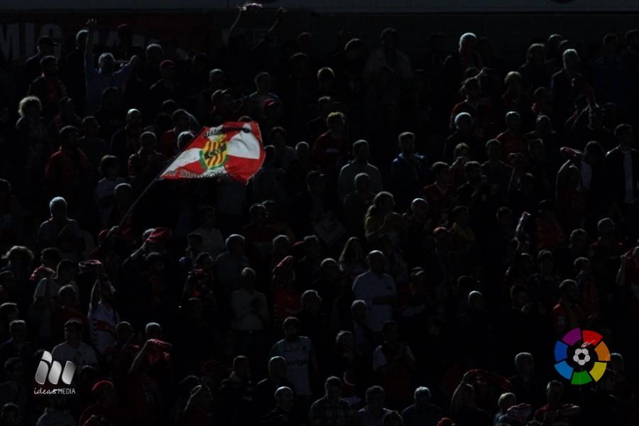 El Nou Estadi va veure com 14.571 especatdors presenciaven en directe la victòria per 1 a 0 del Nàstic davant l'Osasuna. Foto: La Liga
