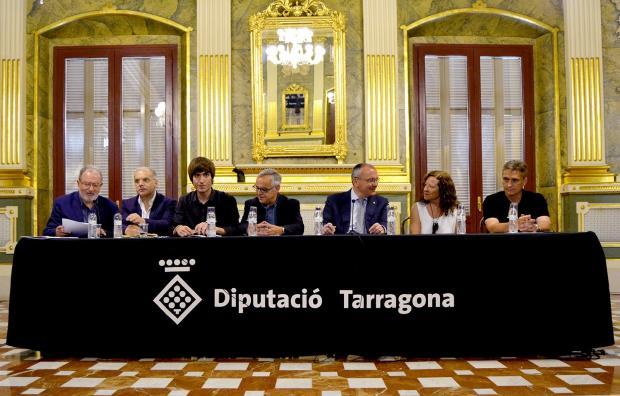 Acte de presentació del premi de periodisme Joa Marc Salvat. Foto: Cristina Antillés/ Reusdigital.
