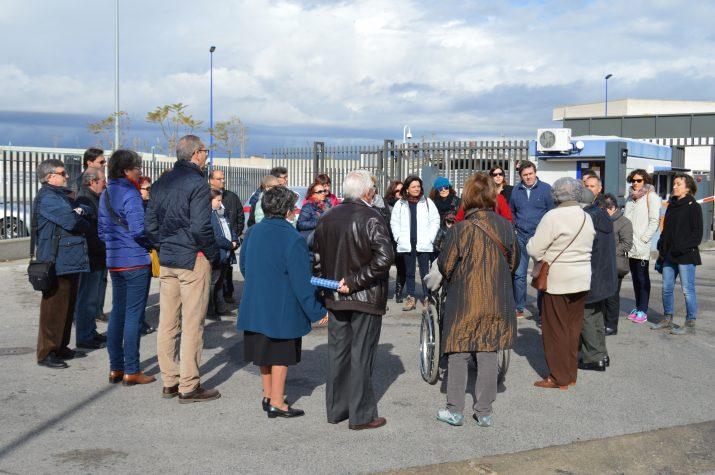 La visita a la Llotja de Peix del Serrallo ha estat una de les activitats organitzades durant el primer semestre de 2016 per als subscriptors del 'Fet a Tarragona'. Foto: RICARD LAHOZ