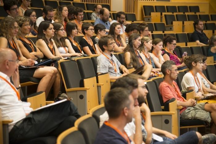 Assistents a les Jornades Internacionals per a professors de català a l'exterior que se celebren a la URV. Foto: Institut Ramon Llull