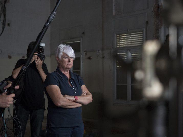 La directora del film, Mar Targarona