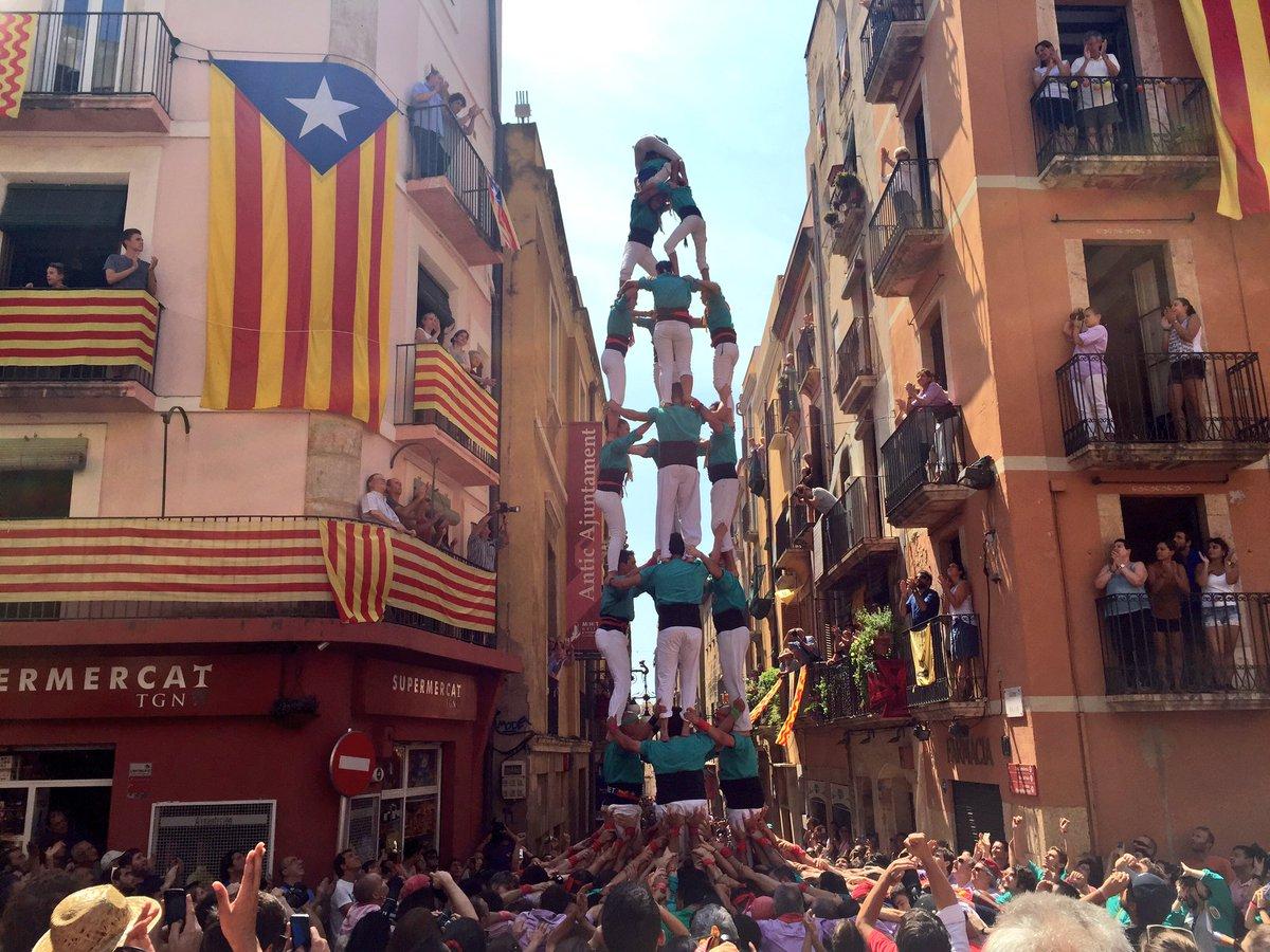 4 de 8 dels Castellers de Sant Pere i Sant Pau. (Foto: Tarragona Cultura)