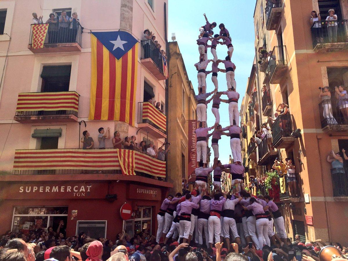 5 de 9 amb folre de la Jove de Tarragona. (Foto: Tarragona Cultura)