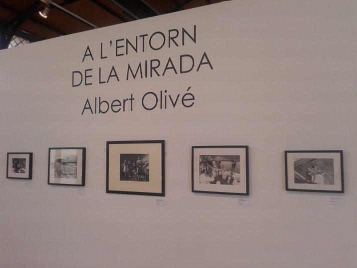 Aspecte de l'exposició de fotos d'Albert Olivé al Tinglado 4 del Moll de Costa. Foto: RICARD LAHOZ