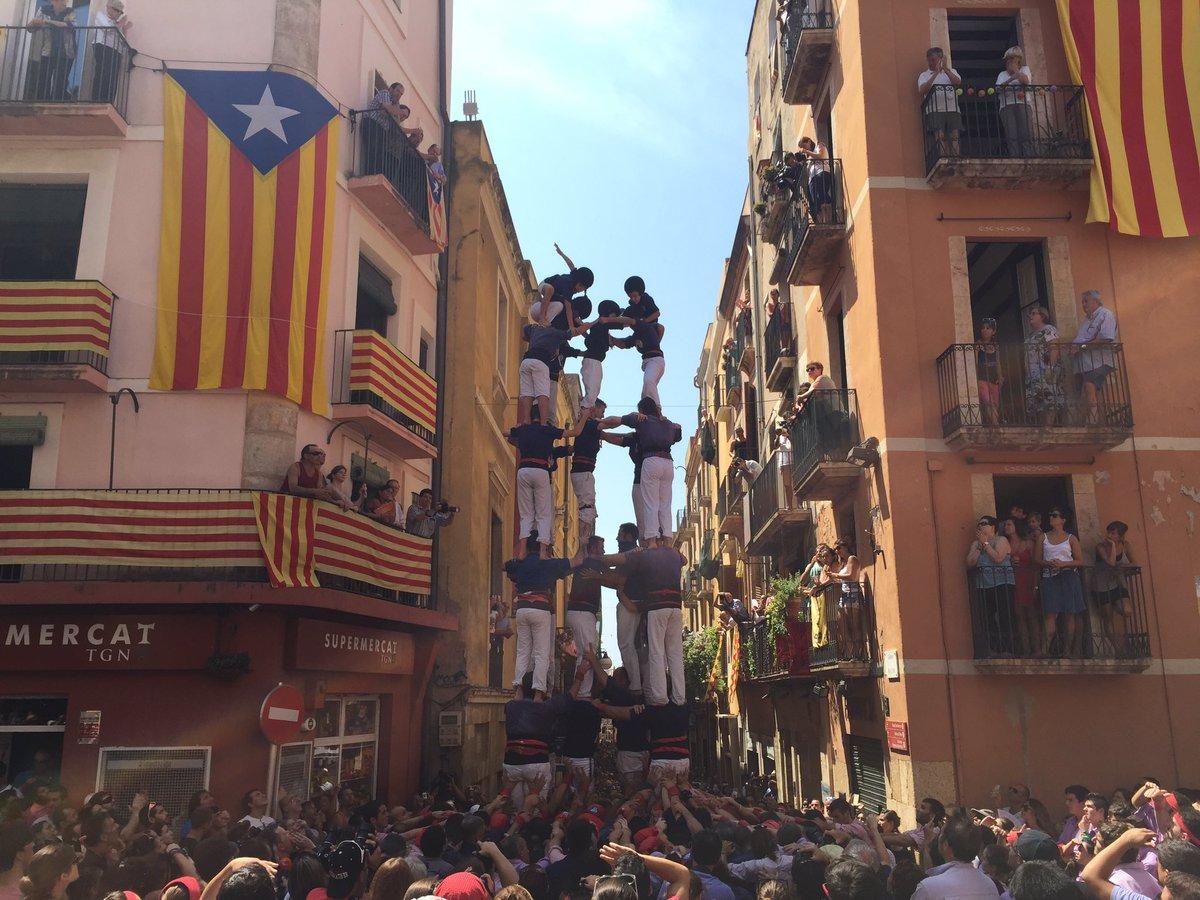 5 de 7 amb l'agulla dels Xiquets del Serrallo. (Foto: Tarragona Cultura)