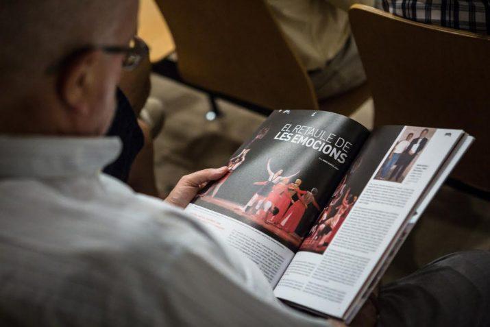 Al número 19 del FET també es publica un reportatge dels 25 anys del Retaule de Santa Tecla (Foto: David Oliete)