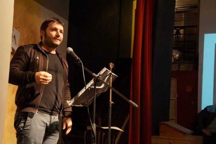 Carles Rebassa, guanyador del premi Pin i Soler de novel·la amb l'obra 'Eren ells'. Foto: cedida