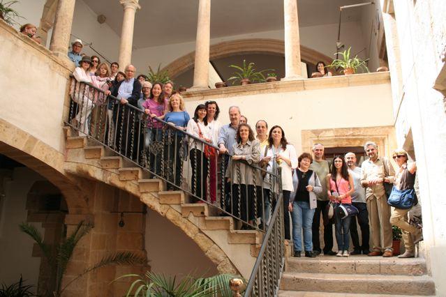 Grup de participants a la primera ruta Pin i Soler, organitzada el juny de 2014. Foto: APELLC
