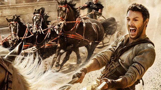 Cartell de la nova versió de la pel·lícula Ben-Hur, estrenada aquest mes de setembre.