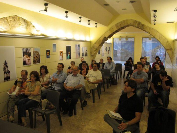 Jornada formativa destinada als restauradors de Tarragona i organitzada pel Patronat Municipal de Turisme. En primer terme, el seu gerent Carles Sanz. Foto: www.tarragona.cat