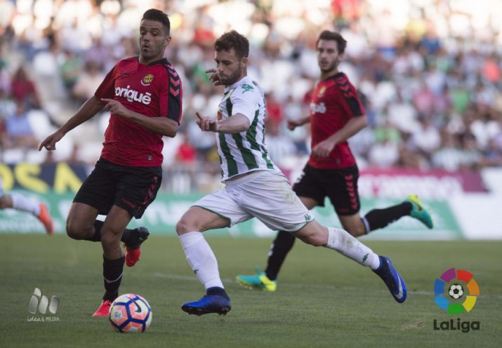 Bouzón intenta aturar a Rodri, golejador (2) del Córdoba