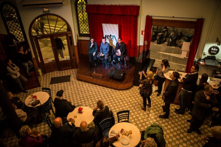 A la presentació van participar alguns dels protagonistes del continguts de la revista. Foto: David Oliete