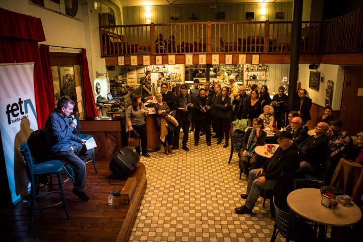 Presentació del Nº20, al cafè La Cantonada. Foto: David Oliete