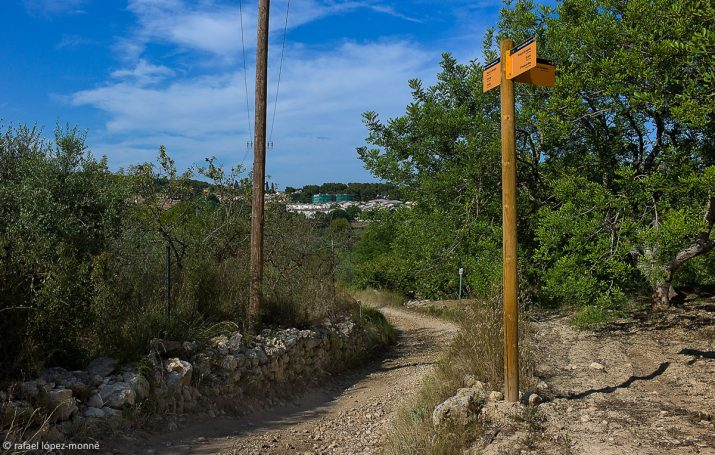 Camí de la Budellera Lluny. Foto: RAFAEL LÓPEZ-MONNÉ