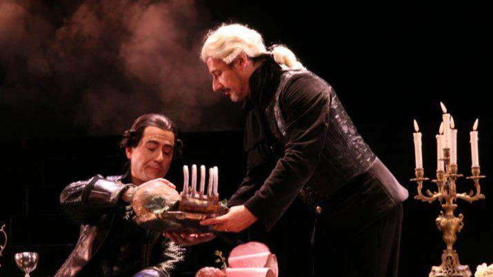 Un moment de la representació de 'Don Giovanni'. Foto: Amics de l'Òpera de Sabadell