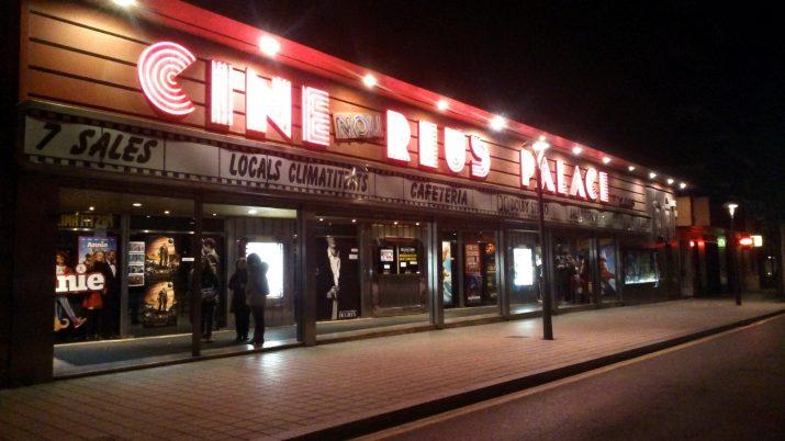 Façana del cinema Reus Palace. Foto: web del cinema