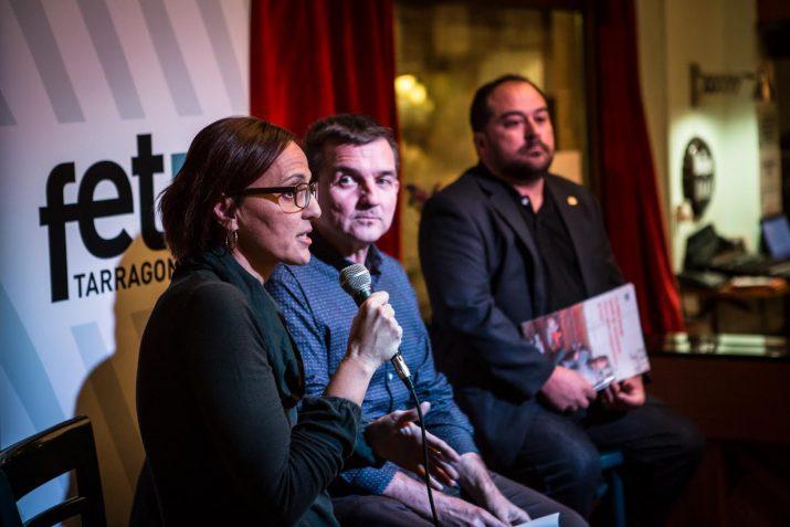 Montse Cartanyà, Ricard Lahoz i Jaume Folch. Foto: David Oliete