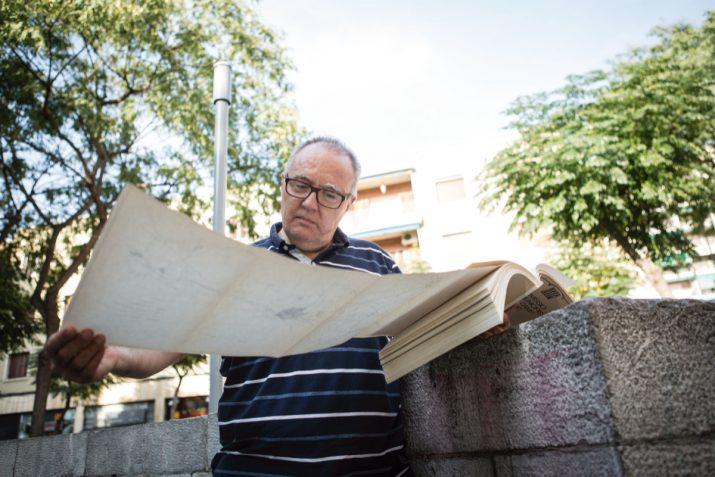 El geògraf Robert Casadevall és un dels principals experts sobre l'articulació metropolitana del Camp de Tarragona. Foto: DAVID OLIETE