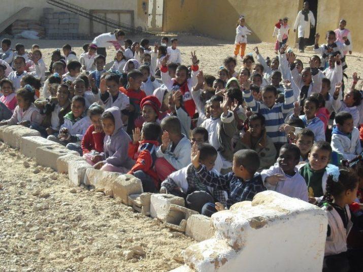 Les imatges de l'article corresponen a expedicions anteriors als camps de refugiats. Fotos cedides per INÉS SOLÉ GUILLÉN.