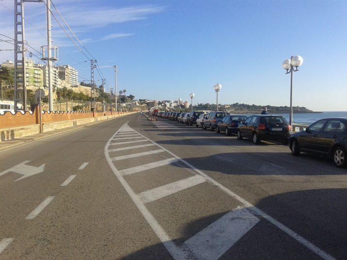 El 2017 començaran les obres de remodelació del passeig Marítim, una inversió del Port de Tarragona. Foto: RICARD LAHOZ