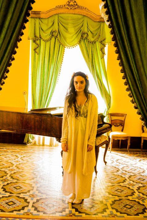 El fantasma de Carolina Castellarnau i el seu inseparable piano. Fotografia: Ariadna Costa